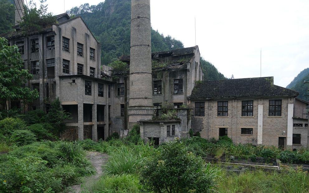 图集丨藏在山中的贵州金汞矿工业遗址 当地启动旅游开发规划