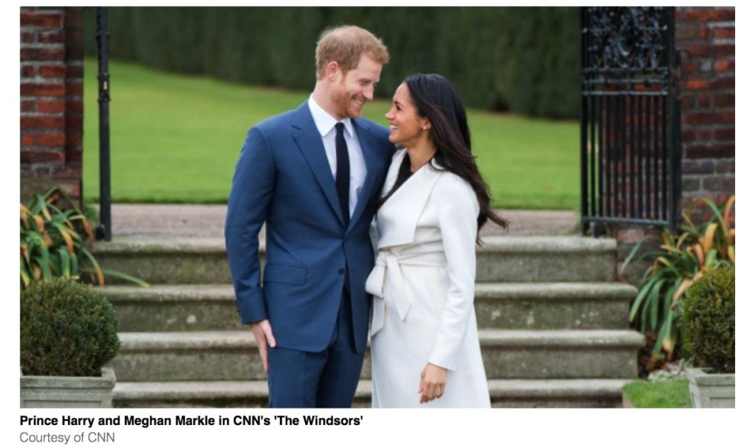 哈里梅根夫妇。/ CNN