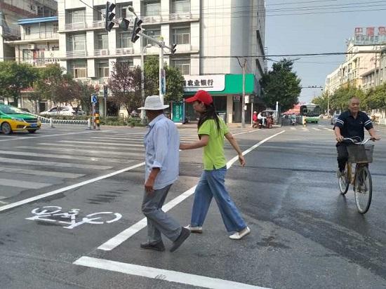 安徽省泗县:志愿服务帮助创建城市的每一步
