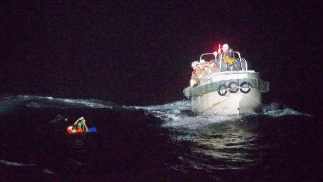 一名船员获救