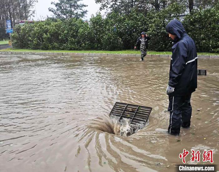"""""""美莎克""""强风暴雨袭吉林 夜间将进入黑龙江"""