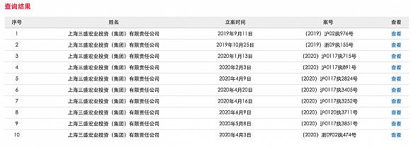 爱建信托踩雷三盛宏业进展:法院一审判决中昌海运归还约1.4亿信托贷款本息