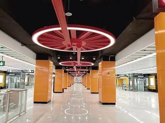 """9座""""网红车站""""爱了爱了!云南又一地铁线计划年内通车"""