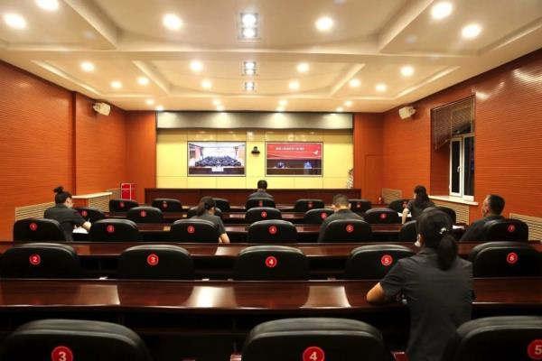 """黑龙江七台河市中级人民法院参加省""""商"""