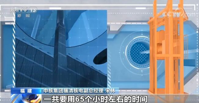 """我国自主研制的三代核电""""华龙一号""""首堆核燃料开始装载"""