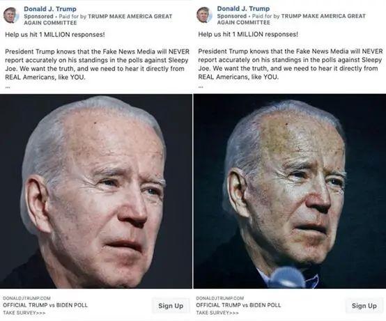 左图为未经编辑的照片,右图为加滤镜后的照片 图源:《赫芬顿邮报》