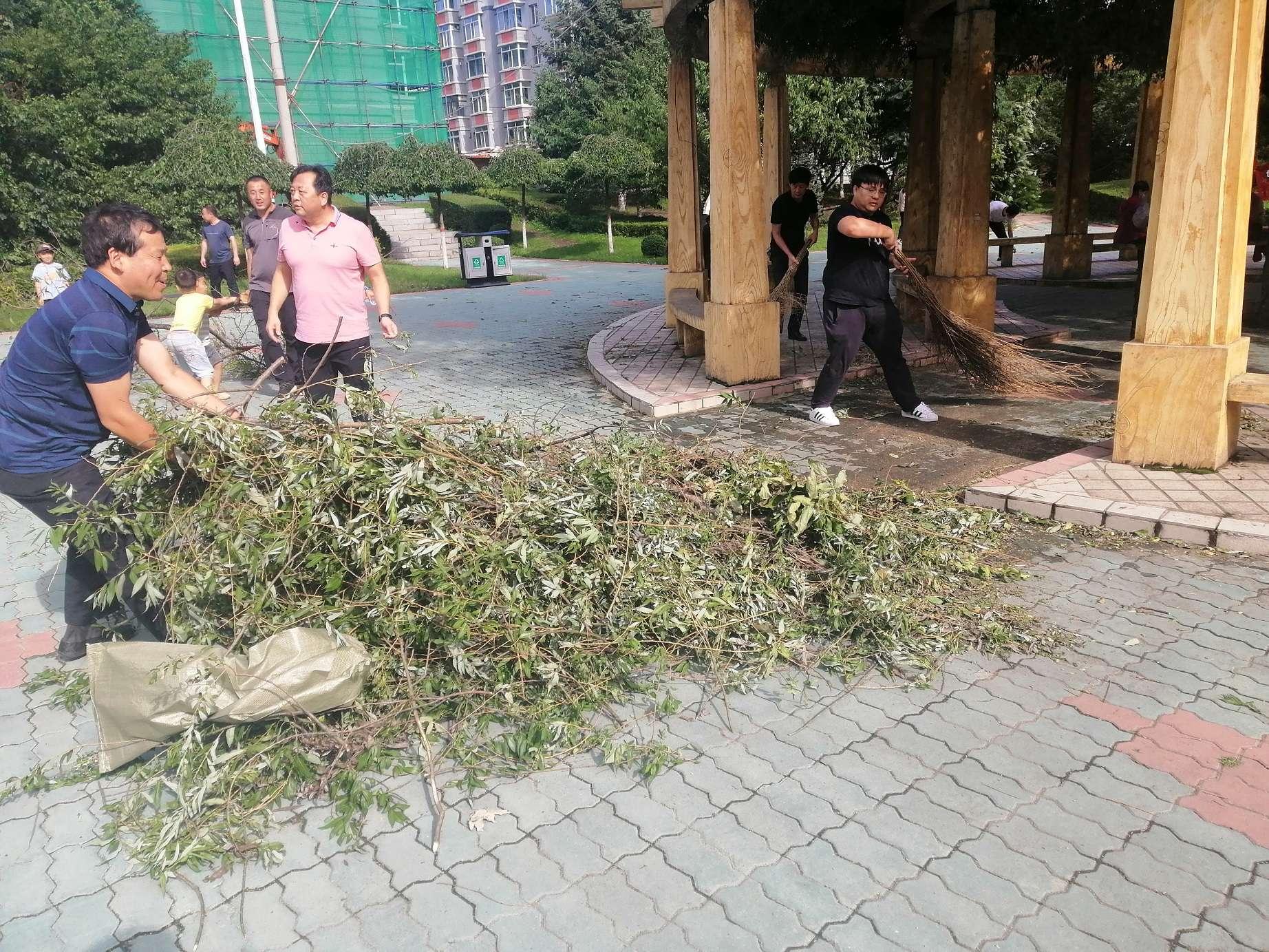 """""""美莎克""""珲春救灾 检察干警在一线"""