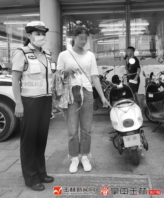 """为了避免""""电动摩托车""""的治理 两名电动"""
