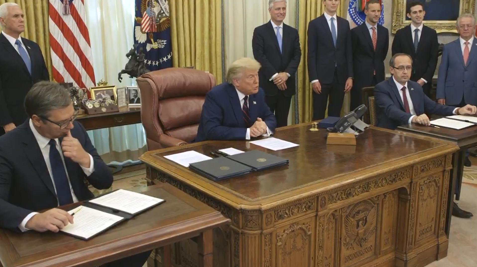 美国撮合下,塞尔维亚与科索沃实现经济关系正常化