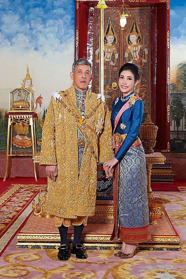 泰国国王哇集拉隆功和贵妃诗妮娜