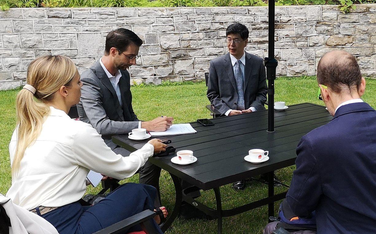 中国驻加拿大使馆官网