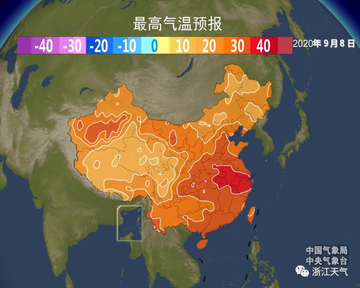 """""""秋老虎""""蓄势待发!下周浙江高温要回来了吗?"""