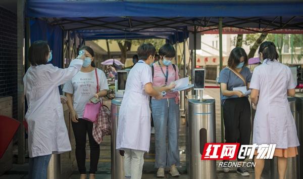 衡阳:667名幼儿园保健员举行资格考试