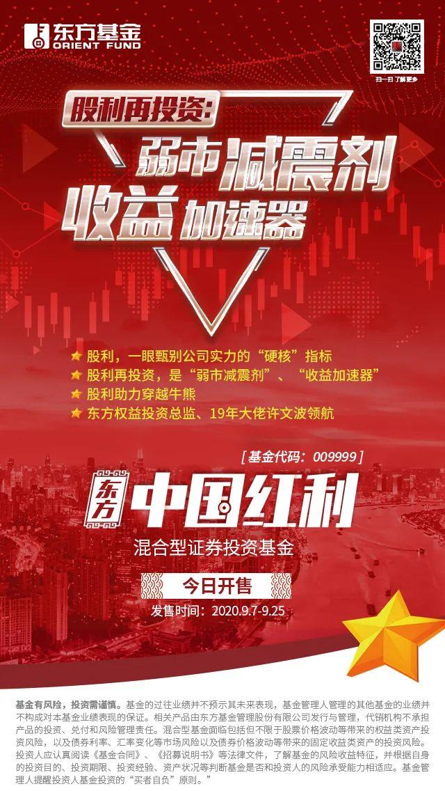东方中国红利混合基金9月7日正式发售