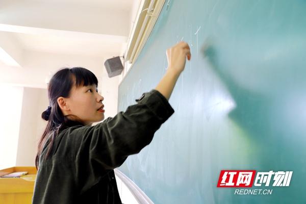 """湖南农业大学常琳:""""师范""""是这种范儿"""