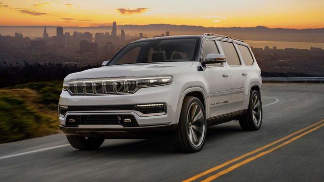 空间方面更下心思 Jeep全新旗舰SUV将推出长轴版