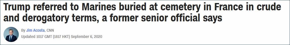 CNN在6日的一篇报道中,证实了《大西洋月刊》的部分报道内容