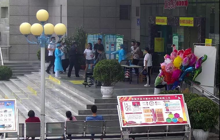患者家属拒不配合疫情防控脚踹护士 被刑拘15日