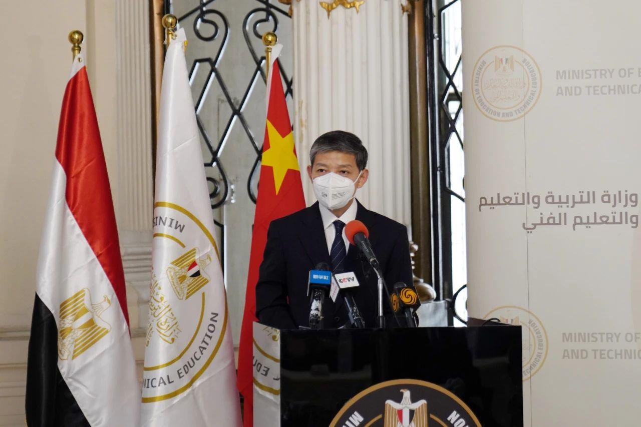 埃及将汉语纳入中小学教育体系 我大使:远见卓识!