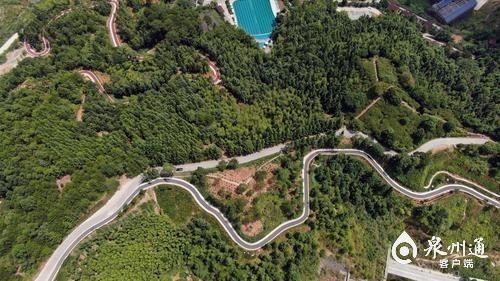 """天然氧吧!德化县唐寨山森林公园13公里""""五环""""绿道正式建成"""
