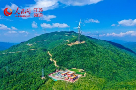 """中国电建福建公司:在汤川乡上升起绿色""""明珠"""""""