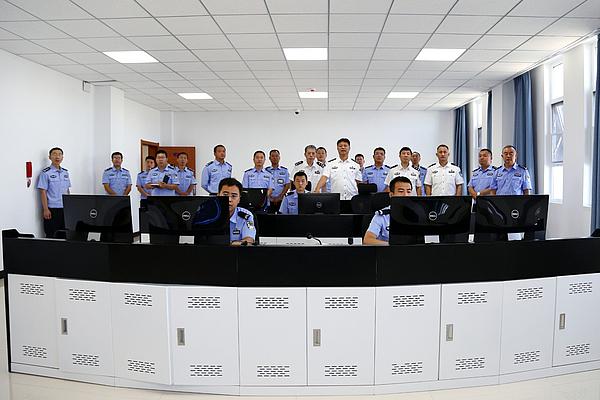 省公安厅副厅长杜清江去渔阳区看守所调