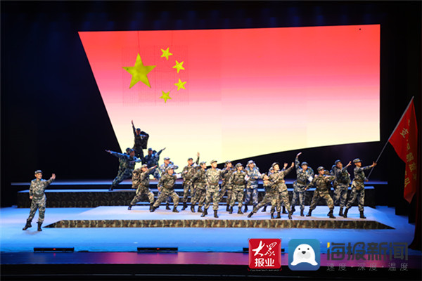 """大型抗疫题材吕剧《连心锁》在滨州上演 致敬抗疫""""逆行者"""""""