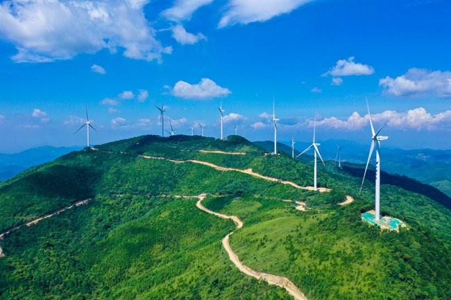 """在汤川乡上升起绿色""""明珠"""""""