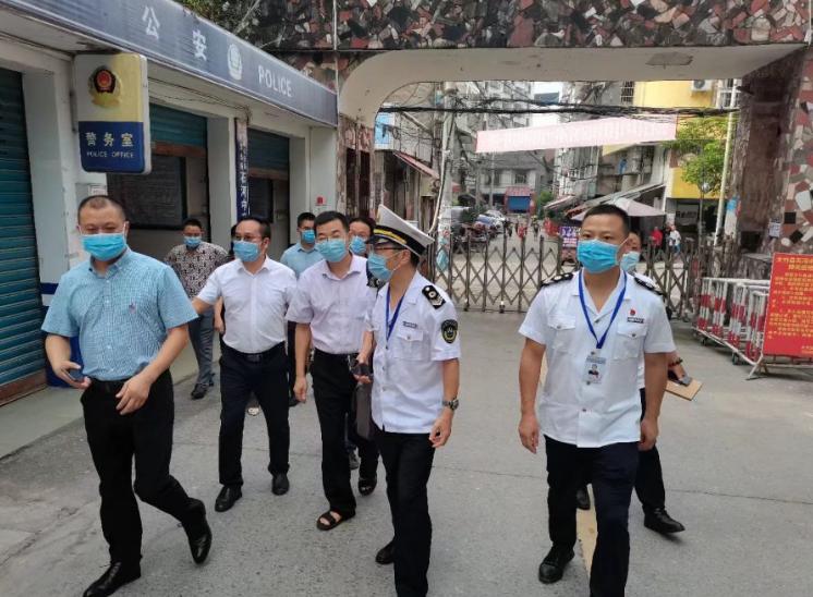 四川省教育厅、省卫健委检查组对大竹县