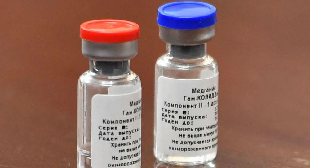 俄罗斯Sputnik V疫苗。图源:俄罗斯卫星网