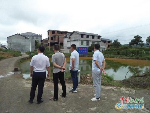 陇南市防汛平安专项督查(图)