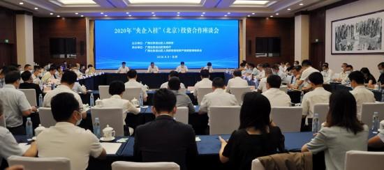 """2020年""""央企入桂""""投资合作座谈会在京召开"""