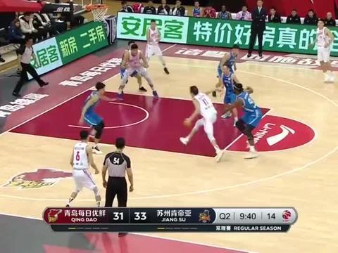 约翰逊30分11篮板杨金蒙22分!青岛击败江苏取5连胜