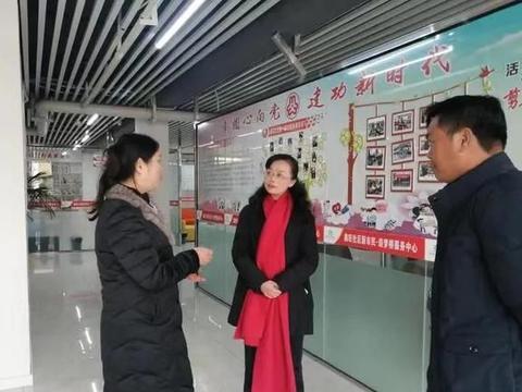 贵州省妇联副主席蒋耘到普定县指导工作
