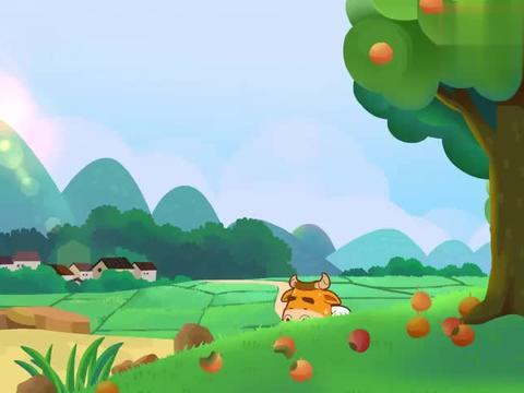 可可小爱:村里道路不通,黄牛叔叔运输水果很吃力,还容易翻车