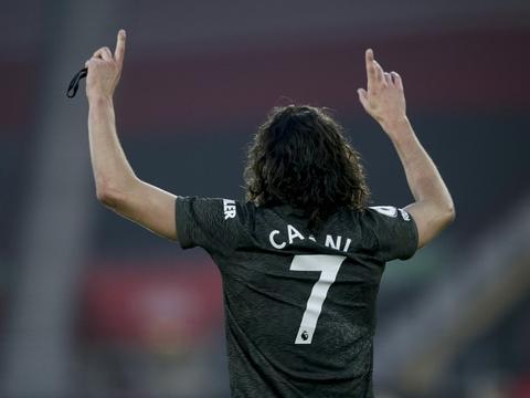 乌拉圭文学院抨击英足总:对卡瓦尼的处罚表明英国足球缺乏文化