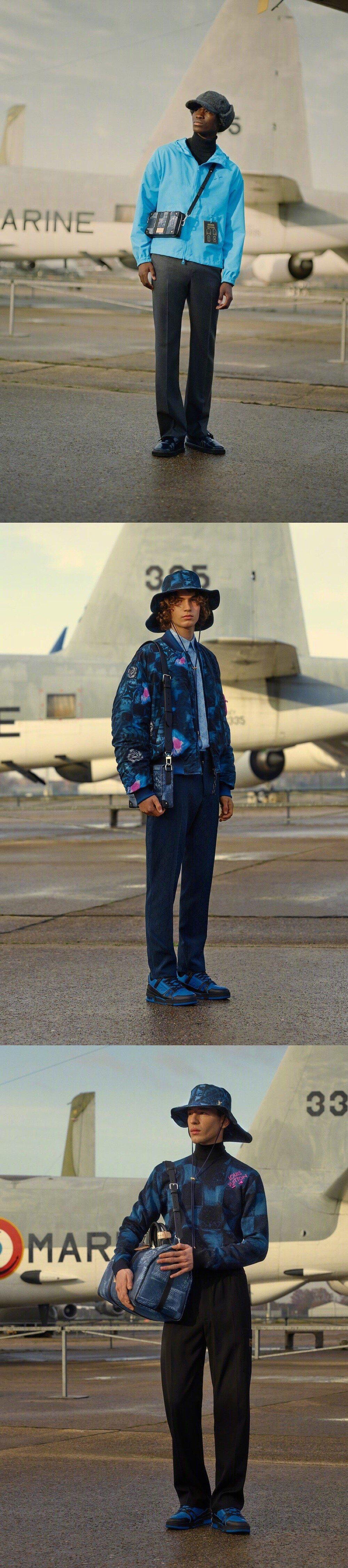 Louis Vuitton Men Pre-Fall 2021 路易威登早秋男装系列