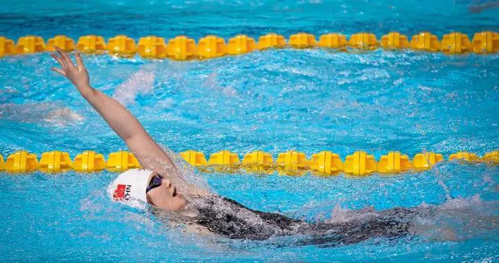 男子自由泳双雄决战!一哥汪顺0.1秒绝杀夺冠,新星屈居第二