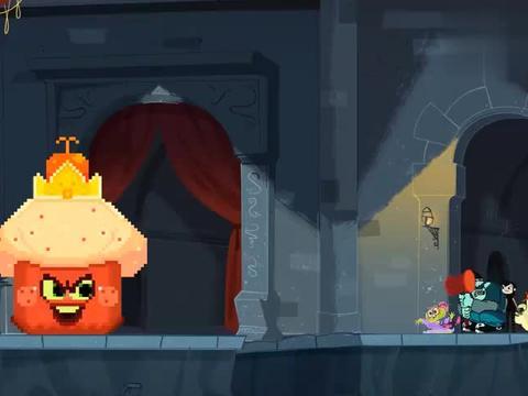 精灵旅社:吉恩升级装备,大家变回原样,他们一起对付红丝绒大王