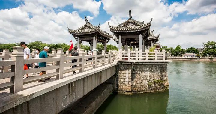 """潮州旅游升温,广济桥元旦游客量增长2.4倍,""""断桥""""有何魅力"""