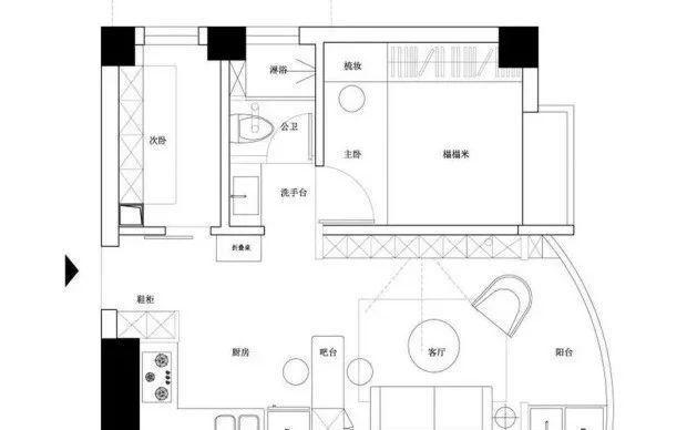 人生道路第一一套房,仅有40㎡,却被她们更新改造成理想化中的家,太美了!|收纳|厨房|空间