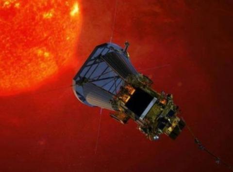 """NASA在犹他州沙漠中发现""""飞碟"""",其破损严重"""