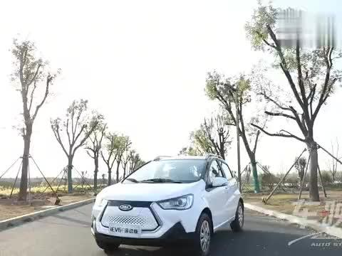 试驾评测江淮新能源2020款iEV6E车型