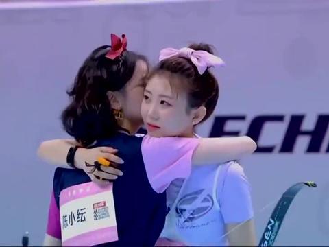 陈小纭夺冠于小彤激动到跳起