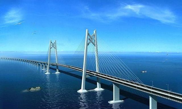 港珠澳大桥全长55公里,为啥13公里宽的直布罗陀海峡没修桥?