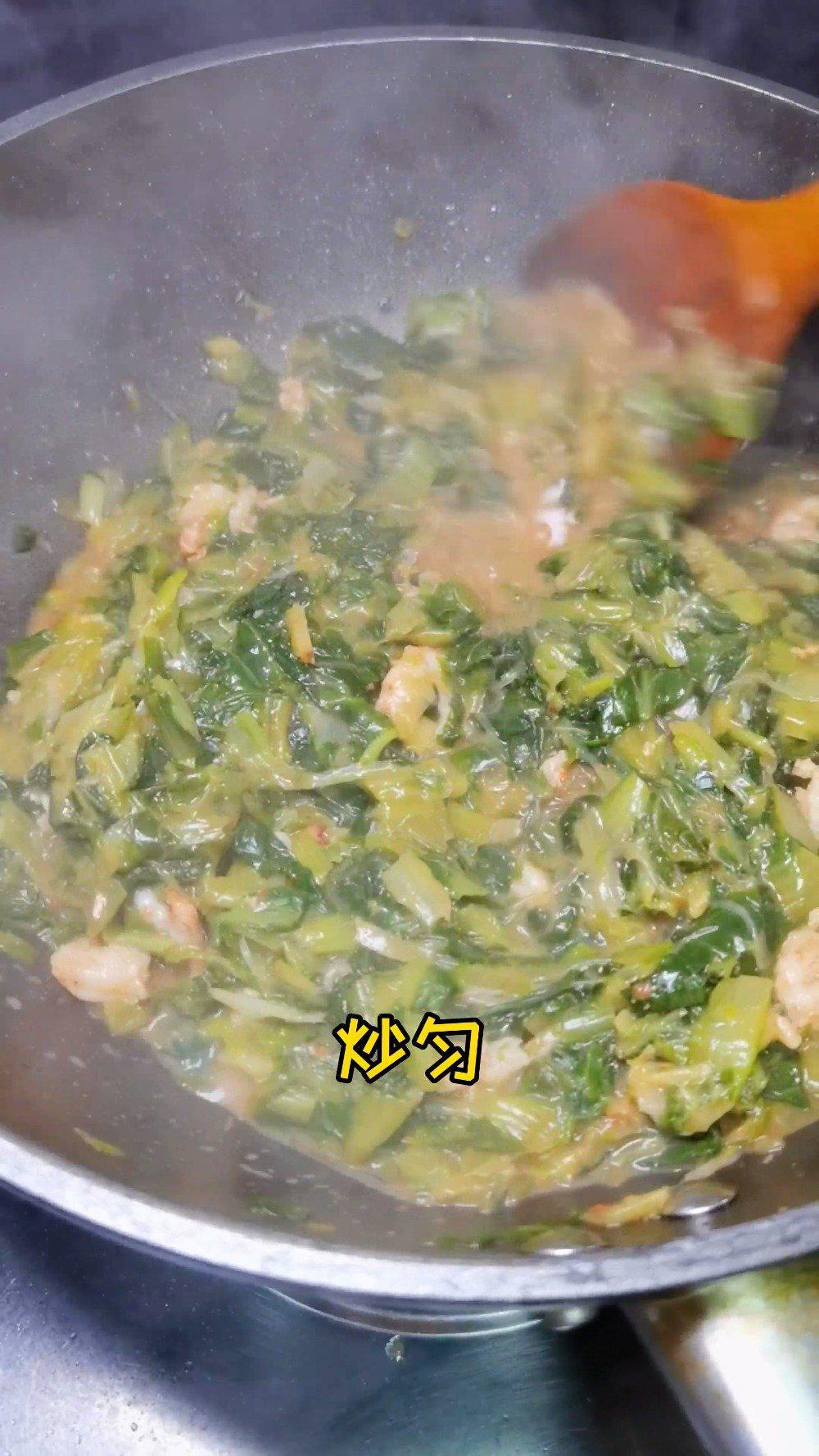 天津家常熬小白菜,就干饭吃,棒棒哒!