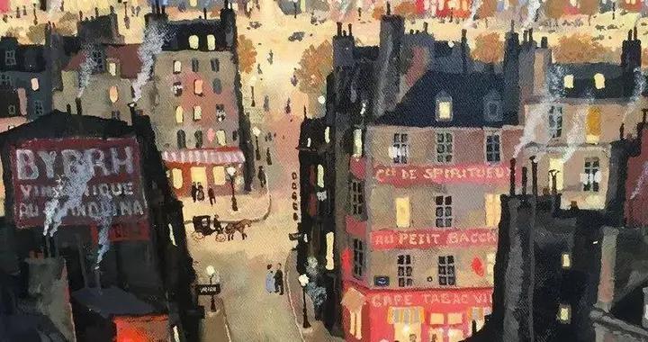 著名画家米歇尔·德拉克鲁瓦,把法国装进了自己的油画里
