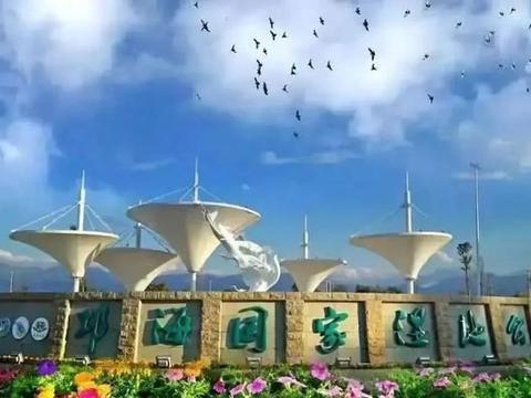 和谐生态 暖冬的邛泸景区,处处湖光山色,步步鸟语花香