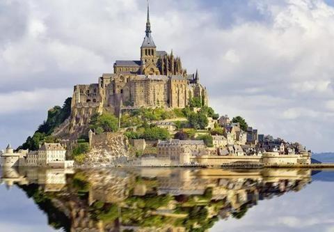 去法国,有座海上孤城圣米歇尔山,寻找浪漫与梦幻