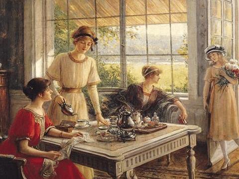 茶自十七世纪传入欧洲并风靡一时使英国大量进口酿成巨大贸易逆差